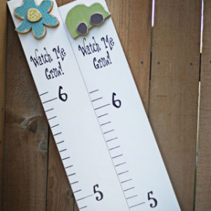 ... are here: Home > Products > Vinyl Sticker Growth Chart-Watch Me Grow