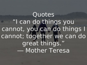 Together We Can Do It Quotes Quotes i can do things you