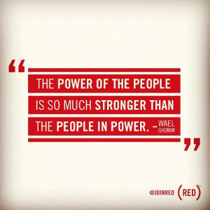 ... the people in power.