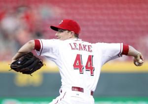 May 13, 2014; Cincinnati, OH, USA; Cincinnati Reds starting pitcher ...