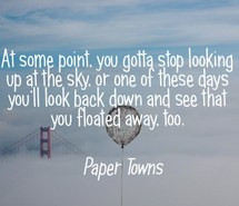 paper towns, fly away, john green, quotes