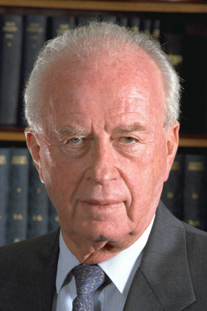 "Yitzhak Rabin (Israël): ""I am 73 years old. I was born in Jerusalem ..."