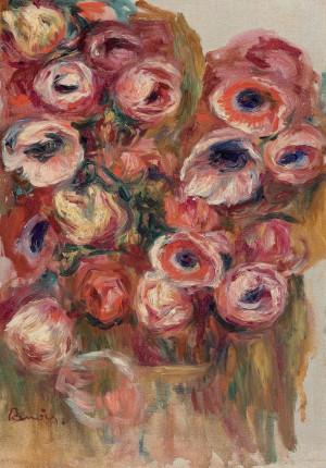 ... Renoir, Renoir Pierre Auguste, Pierre Auguste Renoir Colors, Anemones