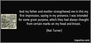 More Nat Turner Quotes