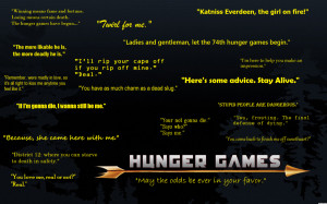 Hunger Games Quotes by Kawaiipandamelon