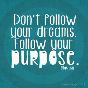 Your purpose