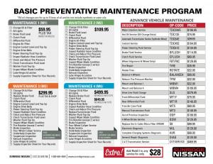Maintenance Schedule   Sunridge Nissan Nissan Calgary, Alberta Airdrie ...