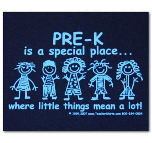 Pre-K is a special place where little things mean a lot