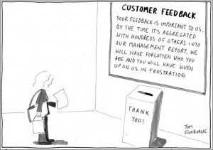 ... is to act on the feedback , make improvements , and close the loop
