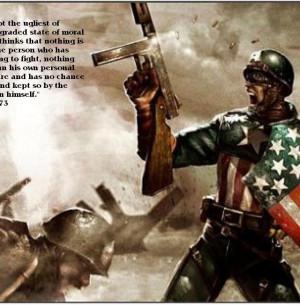 Captain America Quote Wallpaper