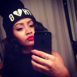 hat thug black rap hot cute sexy dope swag girl girls beanie hipster ...