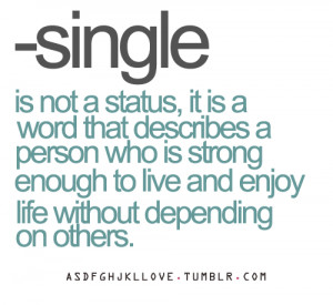 single quote #independent #single #strong #quote