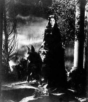 Barbara Steele in Mario Bava's La maschera del demonio (1960)