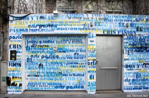 cristina kirchner graffiti buenos aires house palermo ...