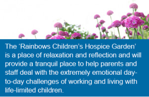 Rainbows Hospice for Children and Young People in Loughborough is ...