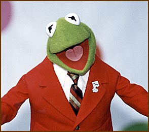 ... am talking about? Of course, it's none other than Kermit the Frog