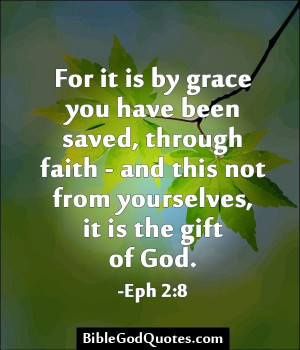 The Grace Of God Quotes No straining of the will