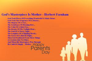 God's Masterpiece Is Mother – Herbert Farnham