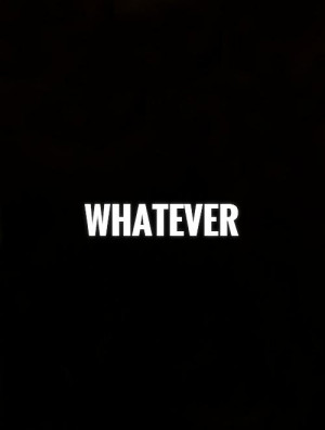 Whatever I Don 39 t Care Quotes