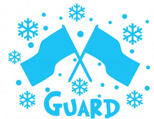 Winter Color Guard Flags