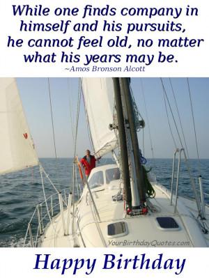 birthday quotes inspirational sailing