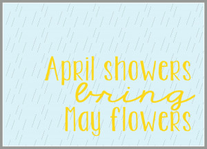 April Showers Printable by Spool and Spoon for Sumo's Sweet Stuff