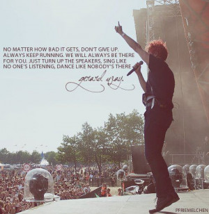 Like Gerard Way My Chemical Romance Mcr Srsly Inspirational Quotes