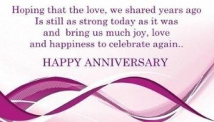 Happy anniversary wishes quotes