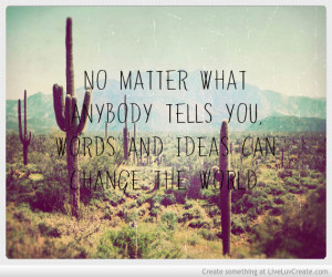 No Matter What Quote