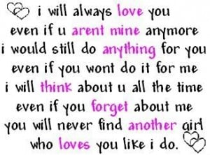 ll always love you quotes