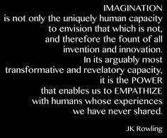Imagination quote via www.Facebook.com/PsychopathFree