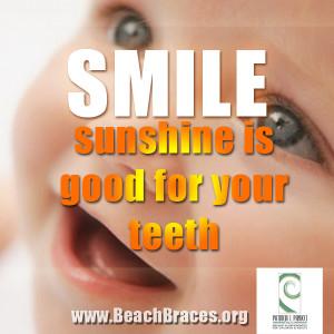 Beach Braces Smile...