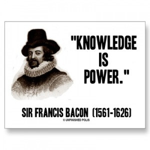 The Famous Saying of Francis Bacon