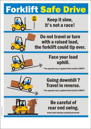 Poster Title : Forklift Safe Drive