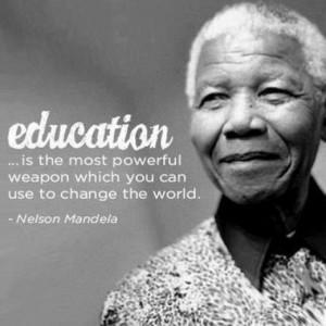 Education Quotes Nelson Mandela Nelson mandela