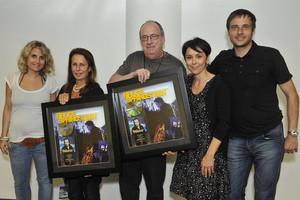 Sony Music Schweiz), Barbara Carr (Jon Landau Management), Jon Landau ...