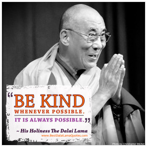 Dalai Lama Quote on Kindness