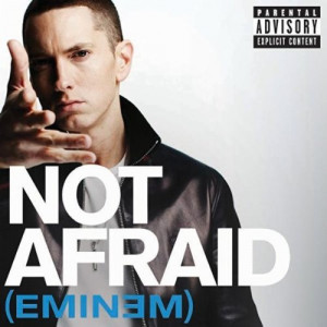 ... and now we have the official Artwork for Eminem's single Not Afraid