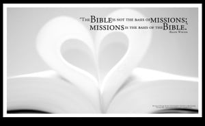 of the bible poster the bible is not the basis of missions missions ...
