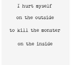 Self-Harm Quotes/ self-harm pictures