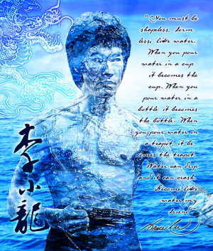 Bruce Lee Wallpaper Quotes Water Bruce lee water quote by