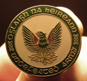 An IRA badge - the Phoenix is frequently used to symbolize the origins ...