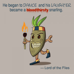 lord of the flies ralph shows savagery in Power abuse plays importance role in developing lord of the flies it strengthens the savagery of the boys, and show's that evil lives inside each and everyone of us.