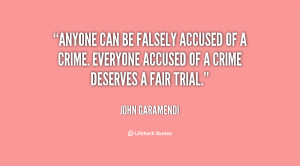 Quotes About Falsely Accused