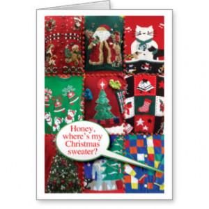 Funny Christmas Sayings Cards & More