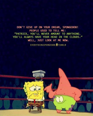 spongebob, motivational, quotes, sayings, do not give up ...