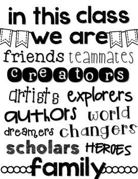 ... Poster FREEBIE inspirational quotes classroom poster classroom decor