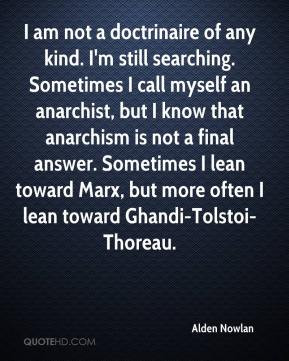 An anarchist Quotes