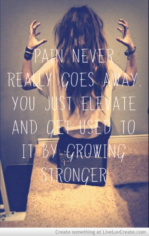 Growing Stronger Quote