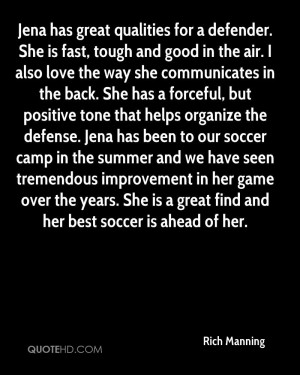 soccer defender quotes